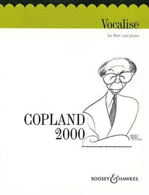 Aaron Copland - Vocalise - Sheet Music - di-arezzo.co.uk
