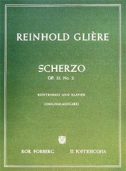 Reinhold Glière - Scherzo op. 32 n° 2 - Partition - di-arezzo.fr