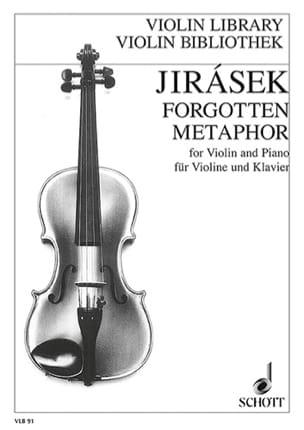 Jan Jirasek - Forgotten Metaphor - Partition - di-arezzo.fr
