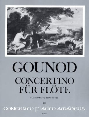 Charles Gounod - Concertino pour Flûte - Partition - di-arezzo.fr