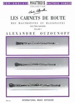 Alexandre Ouzounoff - Les carnets de route - Volume 1 - Parties + conducteur - Partition - di-arezzo.fr