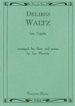 Waltz from Coppélia - Flute piano - Léo Delibes - laflutedepan.com