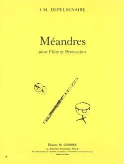 Jean-Marie Depelsenaire - Méandres - Partition - di-arezzo.fr