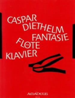 Caspar Diethelm - Fantasy op. 49 - Flöte Klavier - Sheet Music - di-arezzo.co.uk