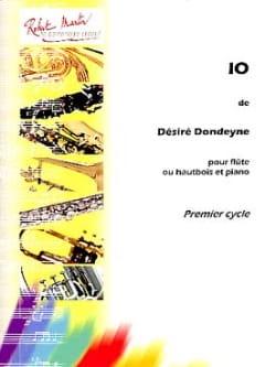 Io - Désiré Dondeyne - Partition - laflutedepan.com