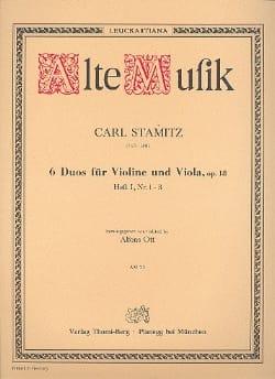 6 Duos für Violine und Viola op. 18 - Heft 1 n° 1-3 laflutedepan