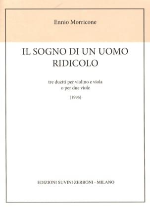 Ennio Morricone - He sogno di uomo ridicolo - Sheet Music - di-arezzo.com