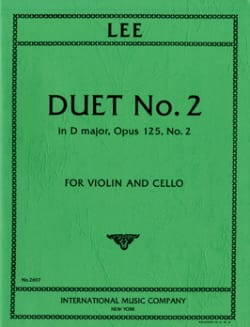 Duet in D major op. 125 n° 2 - Sebastian Lee - laflutedepan.com