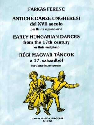 Ferenc Farkas - 17th century Hungarian dances - Sheet Music - di-arezzo.com