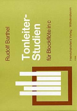 Tonleiter-Studien - Blockflöte in C Rudolf Barthel laflutedepan
