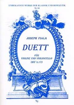 Duett WV 4.17 - Violine Violoncello Joseph Fiala laflutedepan