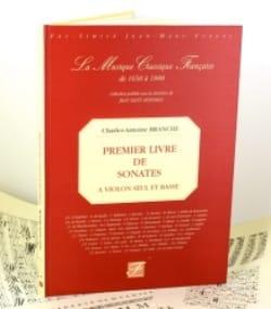 Premier Livre de Sonates - Fac Simile - laflutedepan.com