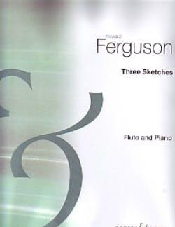 3 Sketches - Flute or treble flute and piano - laflutedepan.com