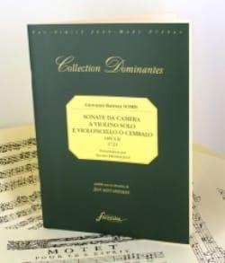 Giovanni Battista Somis - Sonata da camera a violino solo e violoncello e cembalo op. 2 - Partition - di-arezzo.fr