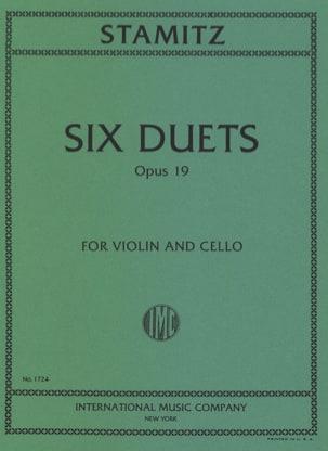 6 Duets op. 19 STAMITZ Partition 0 - laflutedepan