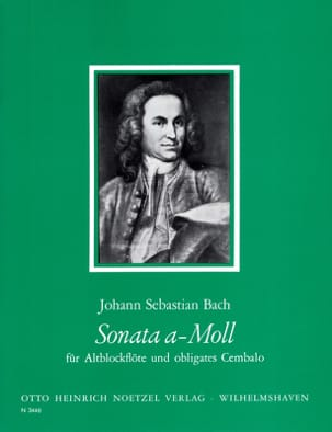 BACH - Sonata in the Min. - Partition - di-arezzo.com