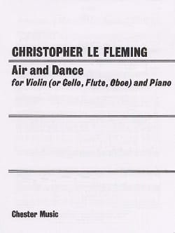 Christopher Le Fleming - Air and Dance - Violin piano - Partition - di-arezzo.fr