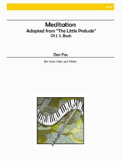 Meditation - Dan Fox - Partition - laflutedepan.com