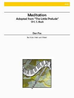Dan Fox - Meditation - Partition - di-arezzo.fr
