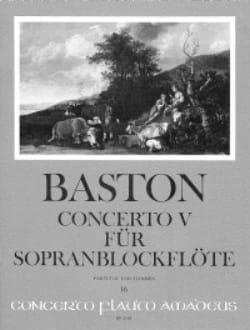 Concerto n° 5 für Sopranblockflöten - Stimmen und Partitur - laflutedepan.com