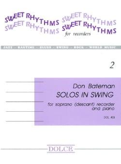 Bateman - Solos In Swing - Partition - di-arezzo.fr