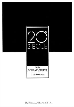 Sofia Gubaidulina - Trio A Cordes (1989) - Partition - di-arezzo.fr
