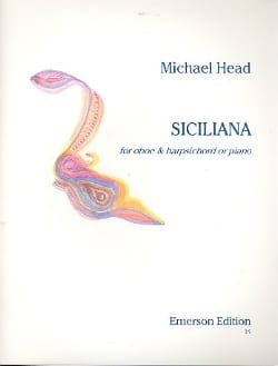 Michael Head - Siciliana - Partition - di-arezzo.fr