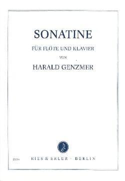 Harald Genzmer - Sonatine - Flöte Klavier - Partition - di-arezzo.fr