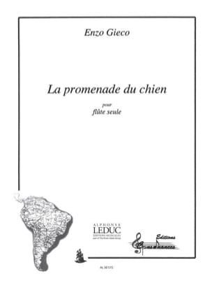 Enzo Gieco - La promenade du chien - Partition - di-arezzo.fr