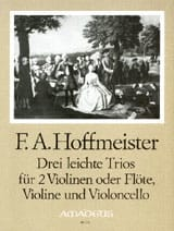 Franz Anton Hoffmeister - 3 Leichte Trios - Stimmen - Sheet Music - di-arezzo.com