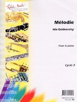 Mélodie - Ida Gotkovsky - Partition - laflutedepan.com