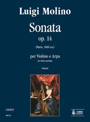 Sonata op. 14 – Violino e arpa - Luigi Molino - laflutedepan.com