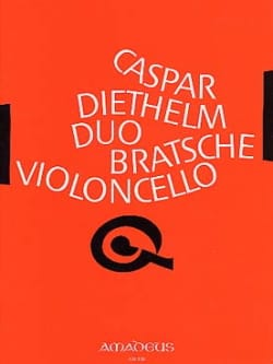 Gaspar Diethelm - Duo – Bratsche Violoncello - Partition - di-arezzo.fr