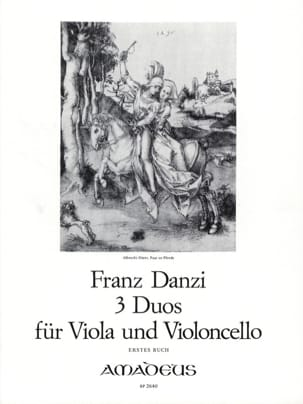 Franz Danzi - 3 Duets for Viola and Violoncello - Buch 1 - Sheet Music - di-arezzo.co.uk