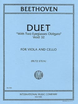 Duet WoO 32 BEETHOVEN Partition 0 - laflutedepan