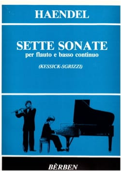 7 Sonates - HAENDEL - Partition - laflutedepan.com