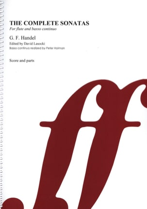 HAENDEL - The complete sonatas - Flute basso continuo - Sheet Music - di-arezzo.co.uk