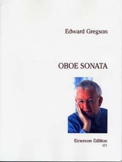 Oboe Sonata - Edward Gregson - Partition - Hautbois - laflutedepan.com
