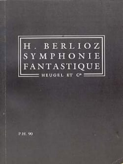 BERLIOZ - Symphonie fantastique op. 14 - Conducteur - Partition - di-arezzo.fr