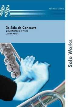 3ème Solo de Concours - Julien Porret - Partition - laflutedepan.com