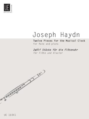 Joseph Haydn - 12 Pieces For The Musical Clock - Partition - di-arezzo.fr