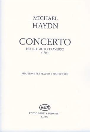 Michael Haydn - Concerto En Ré M. (1766) - Flûte et Piano - Partition - di-arezzo.fr