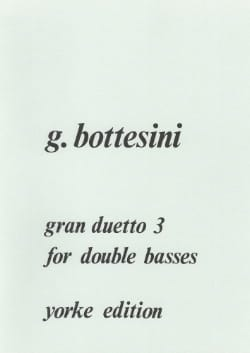 Giovanni Bottesini - Gran duetto n ° 3 - Sheet Music - di-arezzo.co.uk