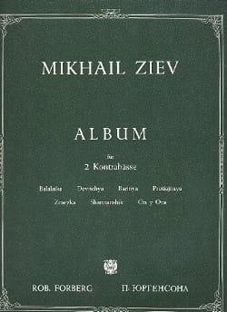 Album - Mikhaïl Ziev - Partition - Contrebasse - laflutedepan.com