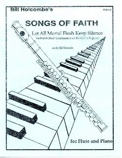 Bill Holcombe - Let all mortal flesh keep silence Songs of Faith - Sheet Music - di-arezzo.co.uk