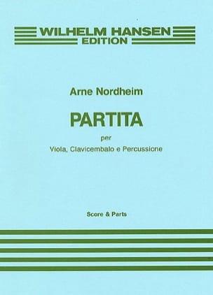 Arne Nordheim - Partita -Viola clavicembalo e percussione - Score + Parts - Partition - di-arezzo.fr