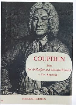 François Couperin - Suite – Altblockflöte und Cembalo - Partition - di-arezzo.fr