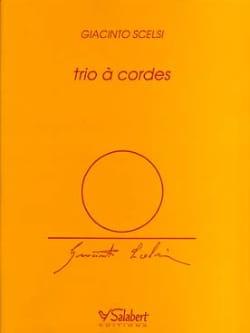 Giacinto Scelsi - String Trio - Conductor Parts - Partition - di-arezzo.co.uk