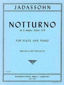 Notturno in G op. 133 - Salomon Jadassohn - laflutedepan.com