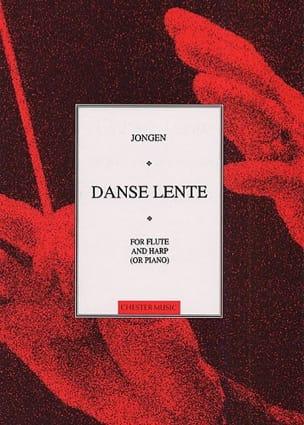 Danse lente - Joseph Jongen - Partition - laflutedepan.com